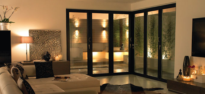 Bi-Fold Doors double glazing Leicester & Bi-Fold Doors | Double Glazing Leicester | Peak Windows Doors ...