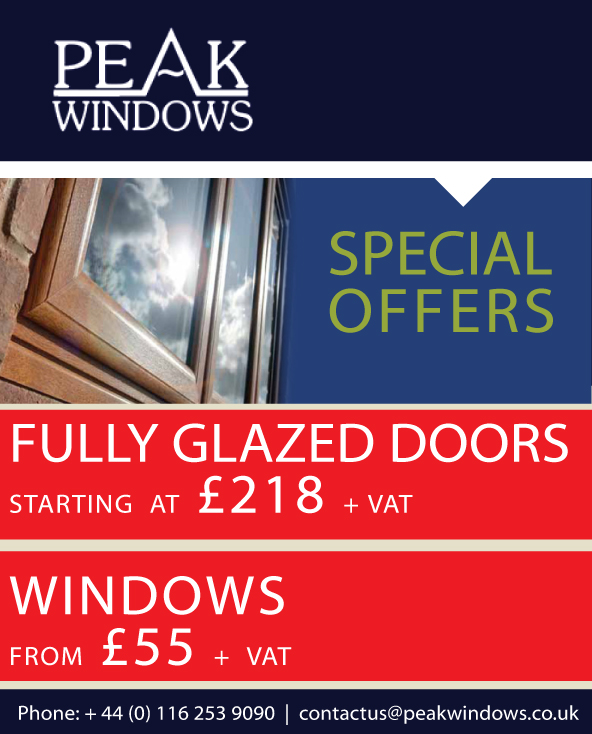 Double glazing leicester offers peak windows doors for Double glazing offers